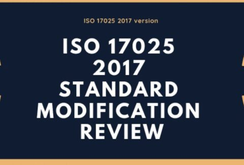 ISO 17025 2017 Standard Modification Review