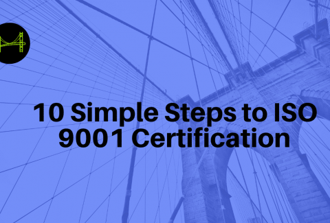 10 Simple Steps to ISO 9001 Certification