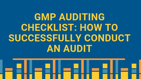 GMP auditing checklist