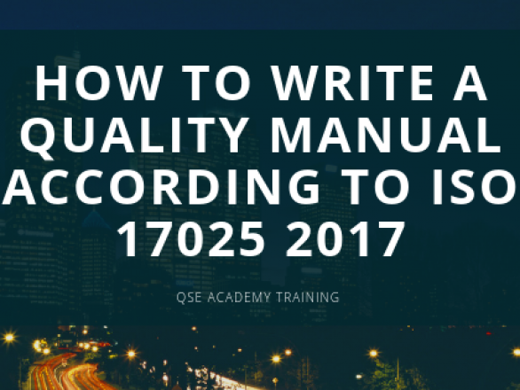 ISO 17025 Quality manual