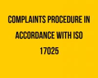 Complaints ISO 17025