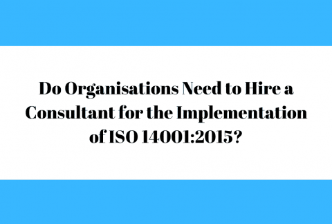 Do Organisations Need to Hire a Consultant for the Implementation of ISO 140012015