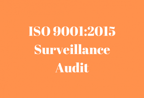 ISO 90012015 Surveillance Audit