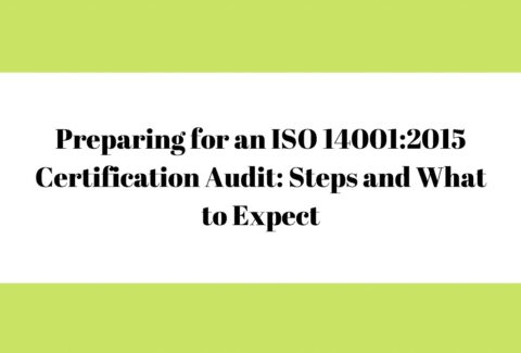 Preparing for an ISO 140012015 Certification Audit Steps and What to Expect