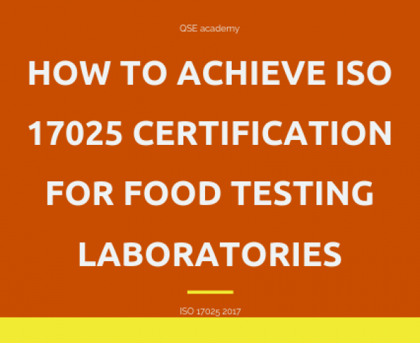 How to Achieve ISO 17025 Certification for Food Testing Laboratories