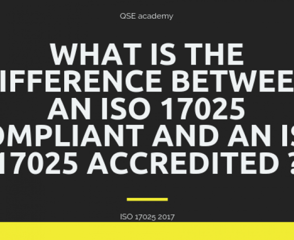 What is the difference between an ISO 17025 Compliant and an ISO 17025 Accredited ?