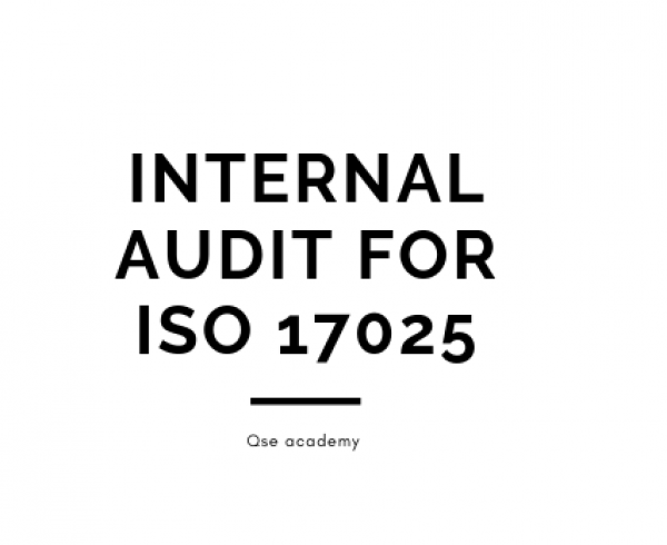 Internal Audit for ISO 17025