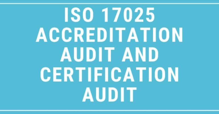 ISO/IEC 17025 Accreditation Audit
