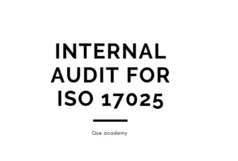 Internal Audit for ISO 17025