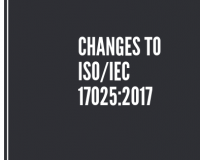 Changes to ISO/IEC 17025:2017