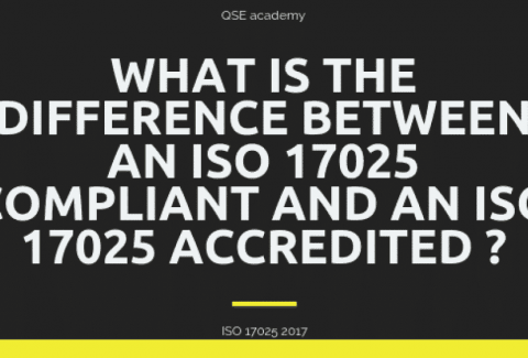 What is the difference between an ISO 17025 Compliant and an ISO 17025 Accredited