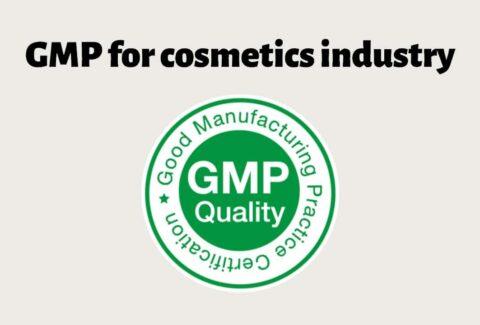 GMP standard for cosmetics