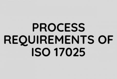 Process Requirements of ISO 17025