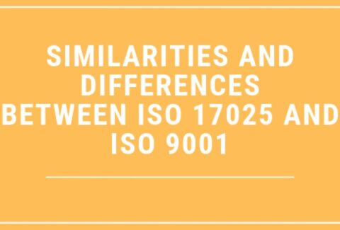 Similarities and Differences Between ISO 17025 and ISO 9001