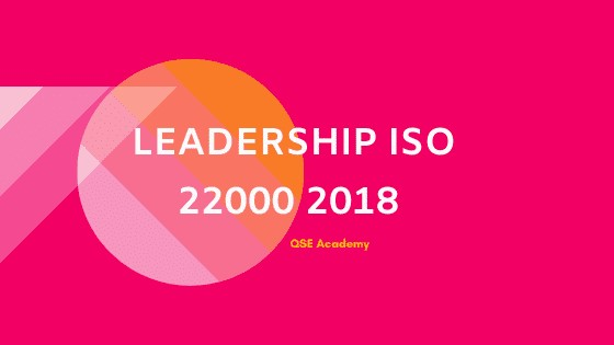 LEADERSHIP ISO 22000 2018.