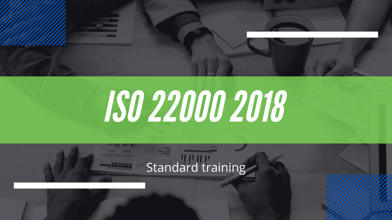 ISO 22000 2018 version course