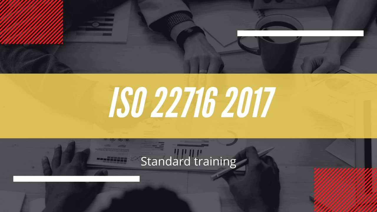 ISO 22716 2017 version course