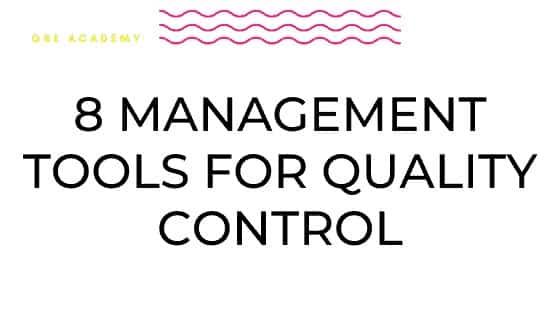 Tools Quality Control
